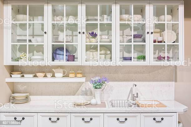 Interior of white domestic kitchen picture id637158594?b=1&k=6&m=637158594&s=612x612&h=3wl719pl3w020lfbxgkx8krclgdqazipnphlbix8uu4=