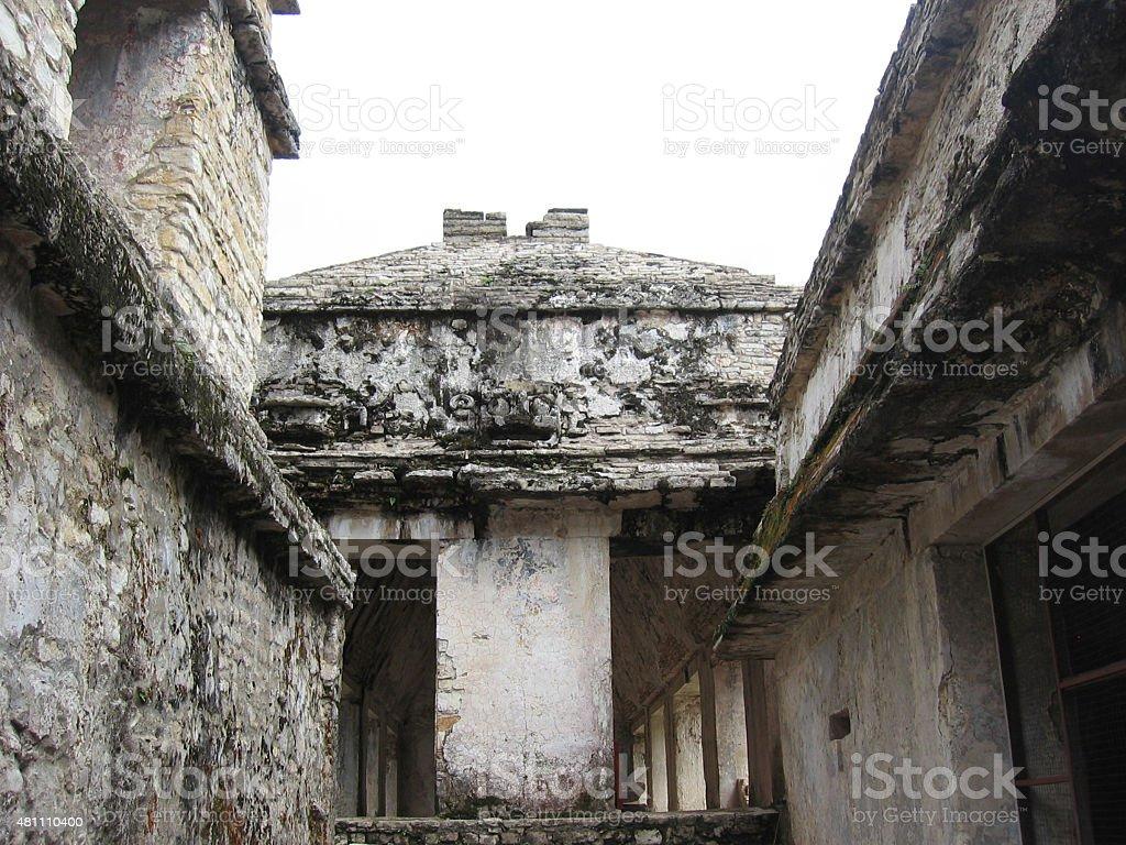 Interior Palenque stock photo