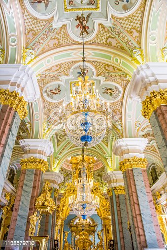 Interior, Peter and Paul Cathedral