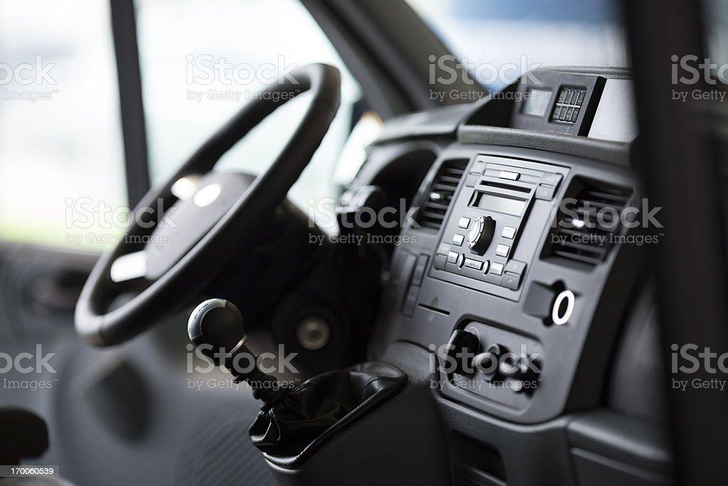 Innenansicht Foto eines neuen van vom Passagier-Winkel – Foto