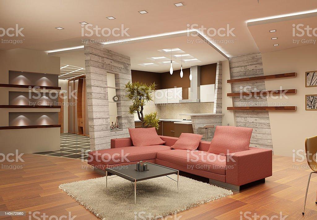 interior #1 royalty-free stock photo