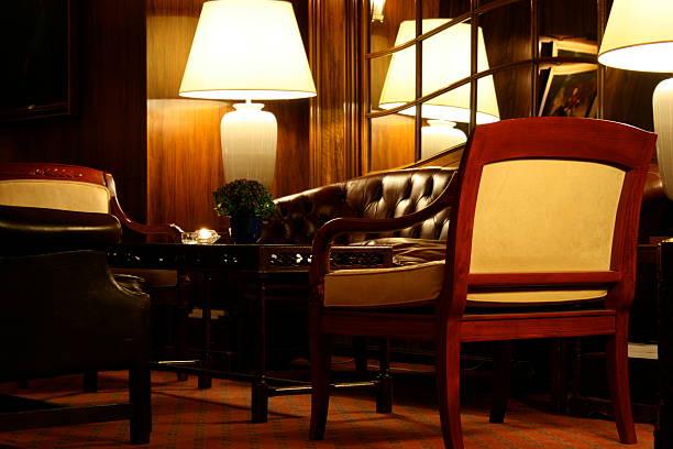 innenansicht - hotels in kopenhagen stock-fotos und bilder