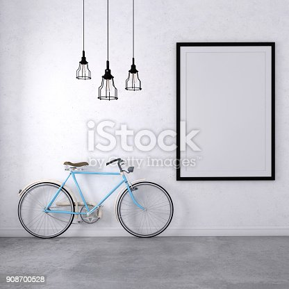 istock Interior poster template 908700528