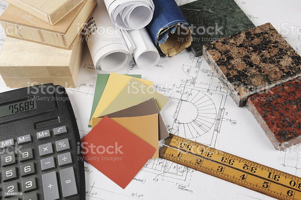 interior renovation cost estimate royalty-free stock photo