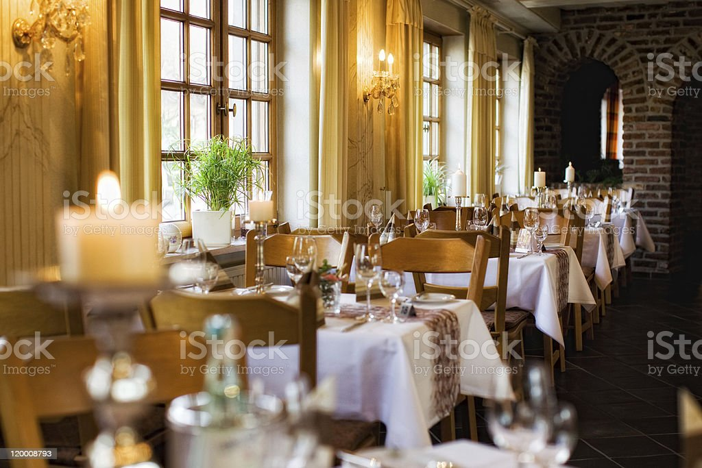 Innenraum Restaurant stock photo