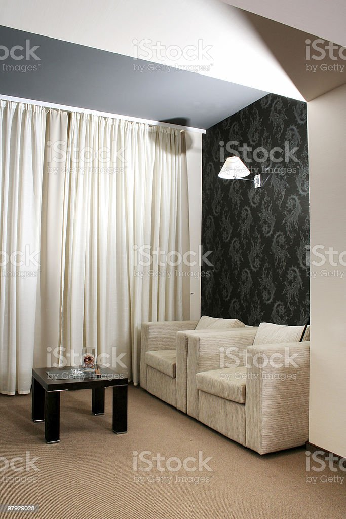 Interior room royalty-free stock photo