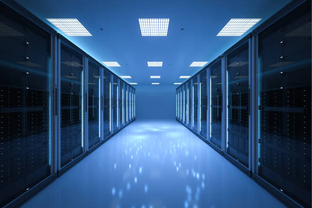 interior server room - mainframe stock pictures, royalty-free photos & images