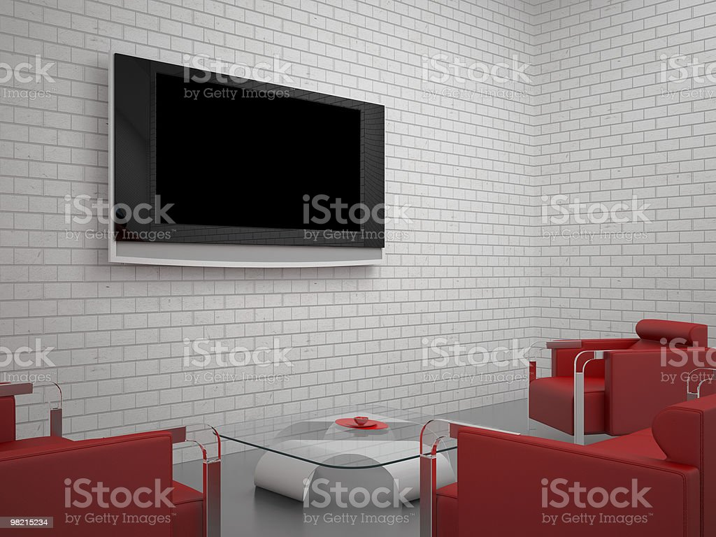 Interior set hundred seventy two royalty-free stock photo