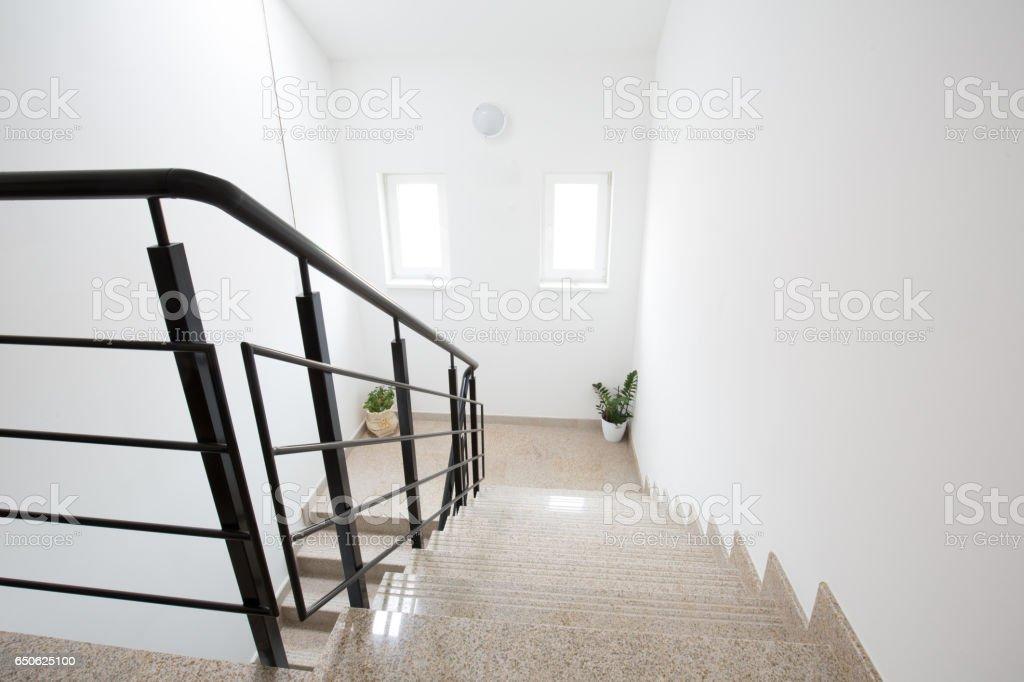 Interior Staircase Design For Duplex House Stock Fotografie Und Mehr