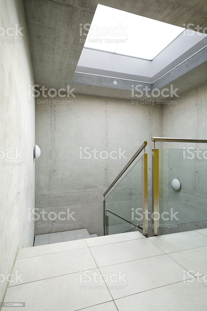 interior, staircase royalty-free stock photo