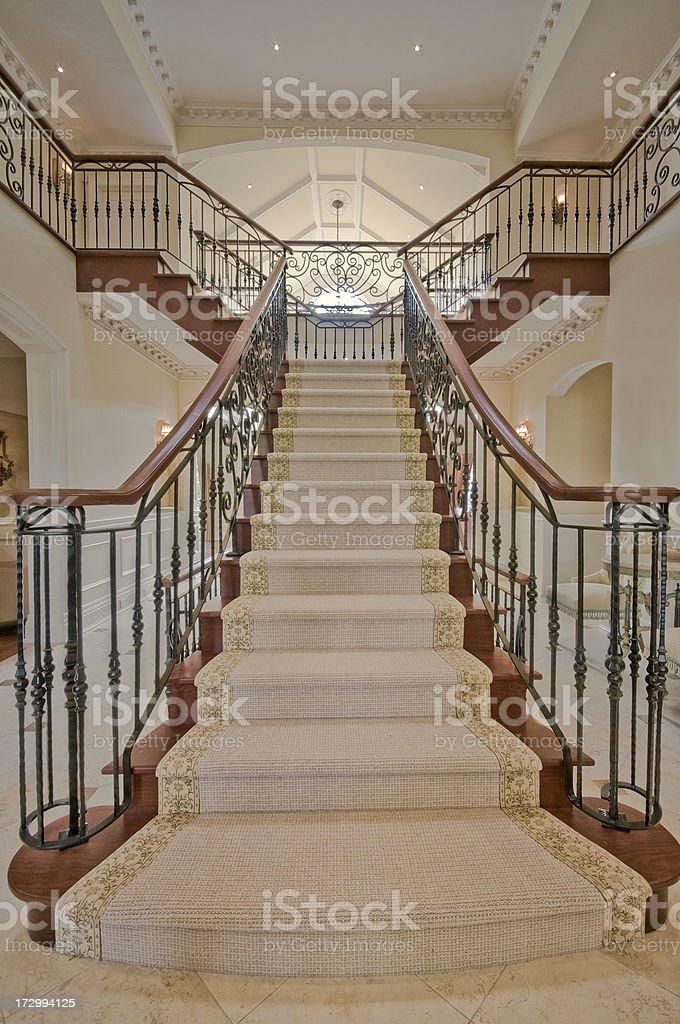 Interior staircase royalty-free stock photo