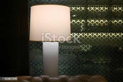 Interior table lamp, Nikon Z7