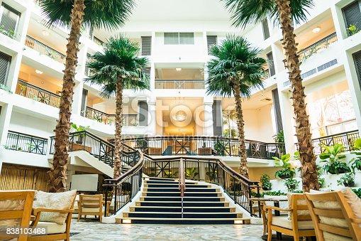 Wealthy tourist hotel in Guam