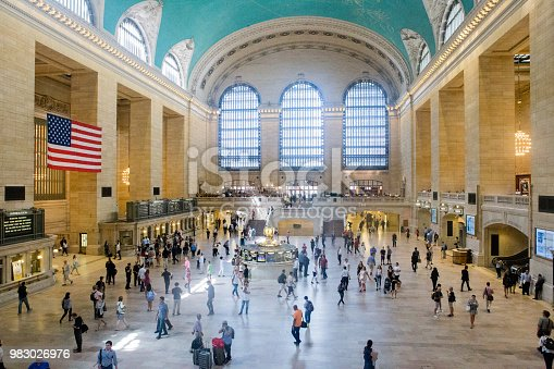 Grand Central Station or simply as Grand Central is a commuter and intercity railroad terminal.