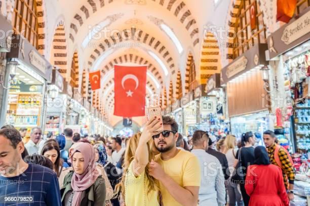 Interiör Bild Av Spice Eller Egyptiska Basaren I Istanbul-foton och fler bilder på Affär
