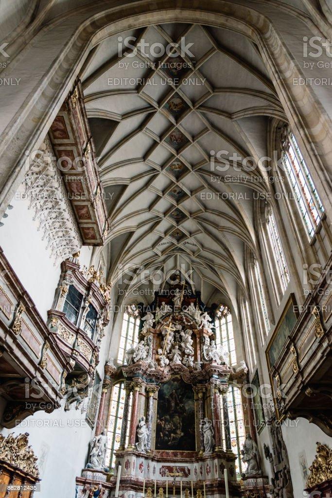 Vista Interior De La Catedral De Graz Foto De Stock Y Más Banco De