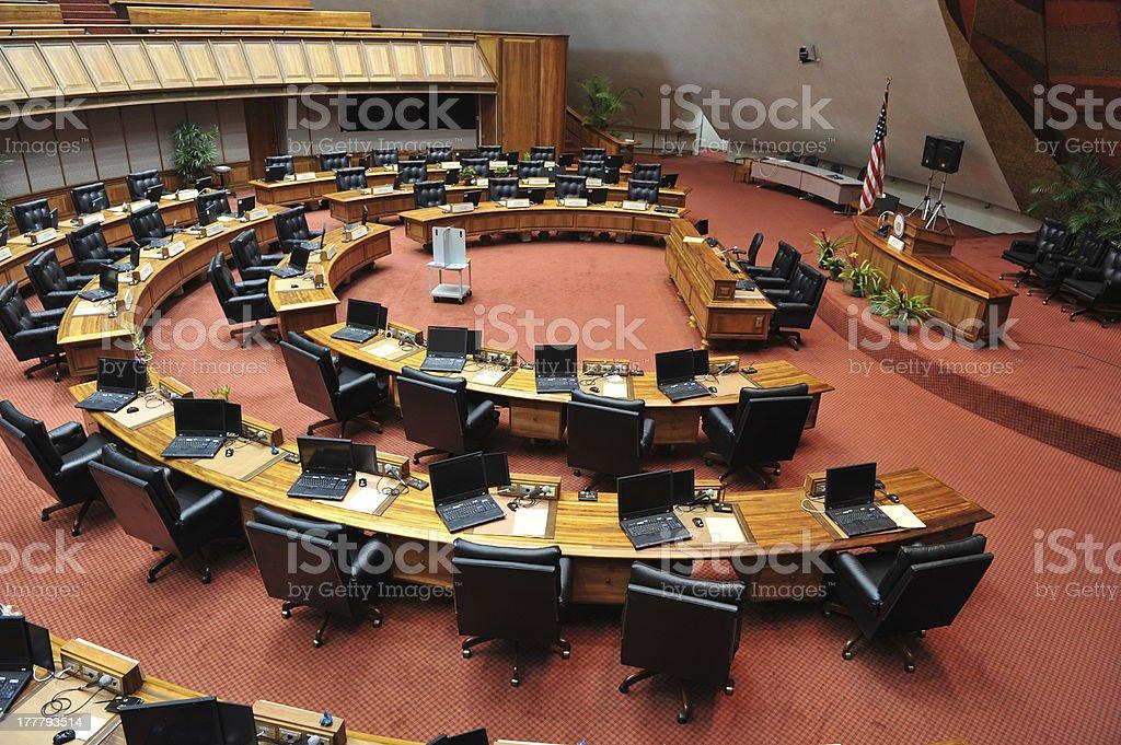 Innenansicht der Hawaii Abgeordnetenhaus Gebäude – Foto
