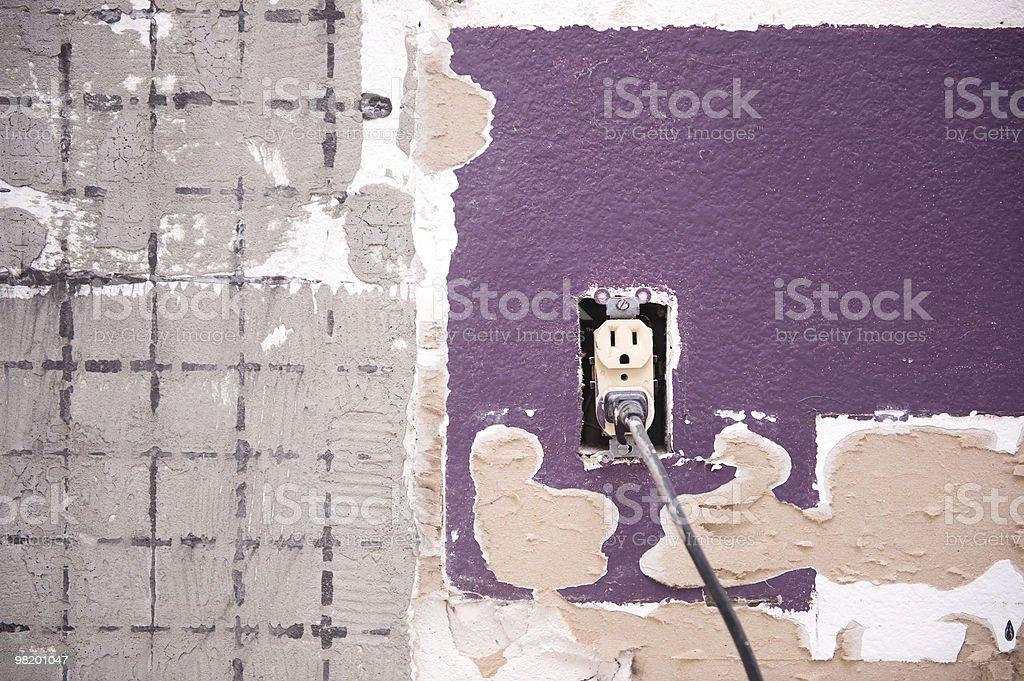 내부 벽 및 토출 royalty-free 스톡 사진