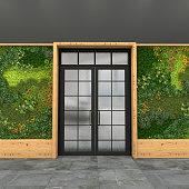 Style loft. 3D visualization.
