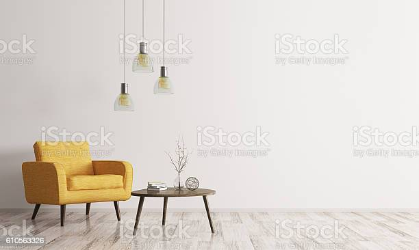 Interior with armchair and coffee table 3d rendering picture id610563326?b=1&k=6&m=610563326&s=612x612&h=1j dnipyc4pjvkh4qehapxyu4pc6lid myswzcryjlm=