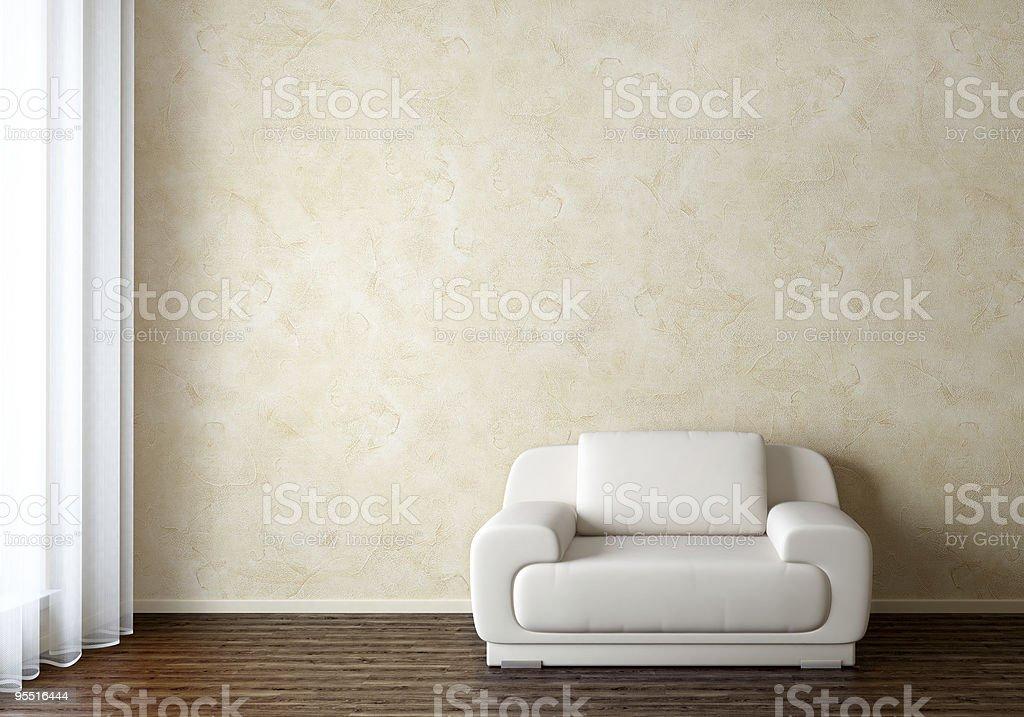 Innenraum mit Stuhl – Foto