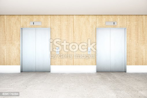 638591126 istock photo Interior with elevator 638276094