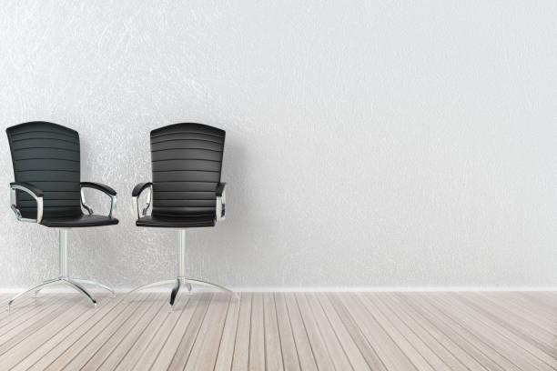 オフィスの椅子とインテリア - オフィスチェア ストックフォトと画像