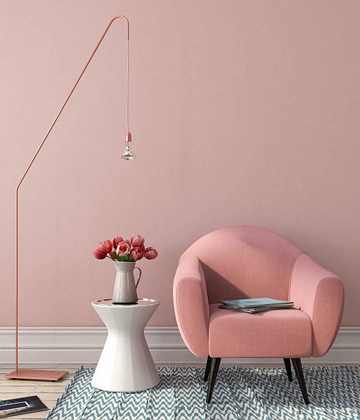 Interior with pink chair and stylish floor lamp picture id513318342?b=1&k=6&m=513318342&s=612x612&w=0&h=o6ialmztovb2pc24enp2gpglhperzt6 kqwnzunzag0=