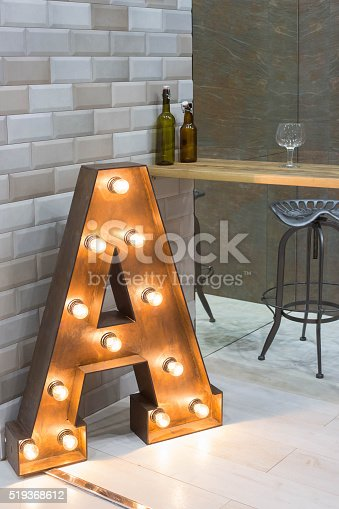 istock interior with popular letter - lighter 519368612