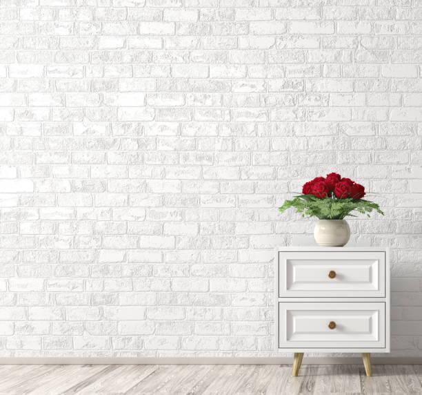 Interior with white wooden cabinet and bouquet of red roses home 3d picture id1173932979?b=1&k=6&m=1173932979&s=612x612&w=0&h=eppbdzdqteswryvlgt   elw7pplpeffwrlhva klu8=
