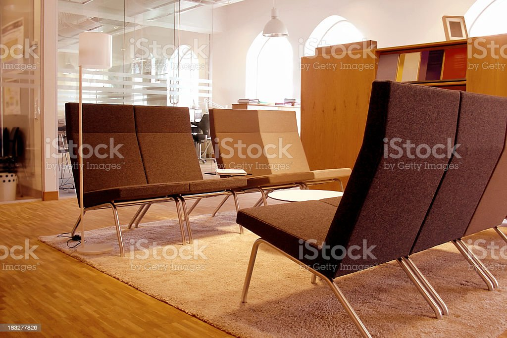 interiors: lounge royalty-free stock photo