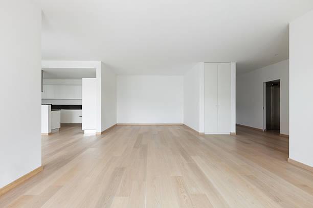 Interiors, modern house stock photo