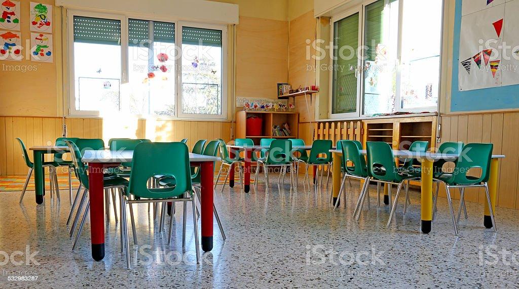 Fotografía de Jardines Interiores De Una Clase Con Sillas Y Para ...