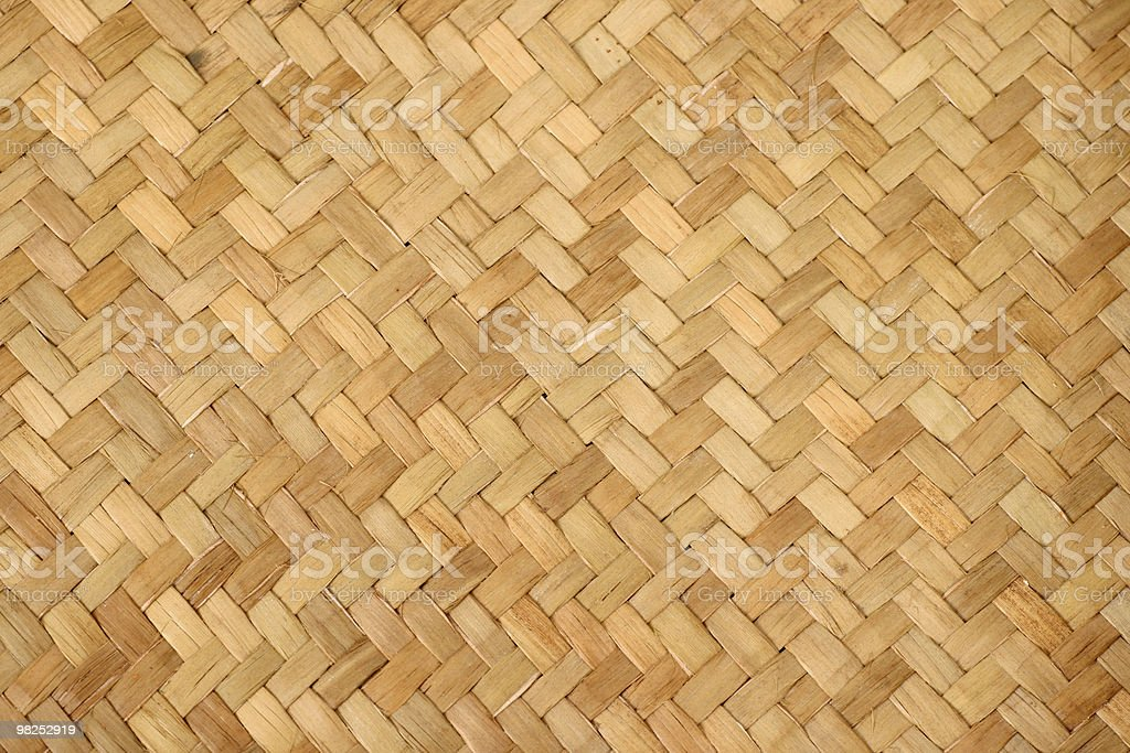 Interlaced Basket royalty-free stock photo
