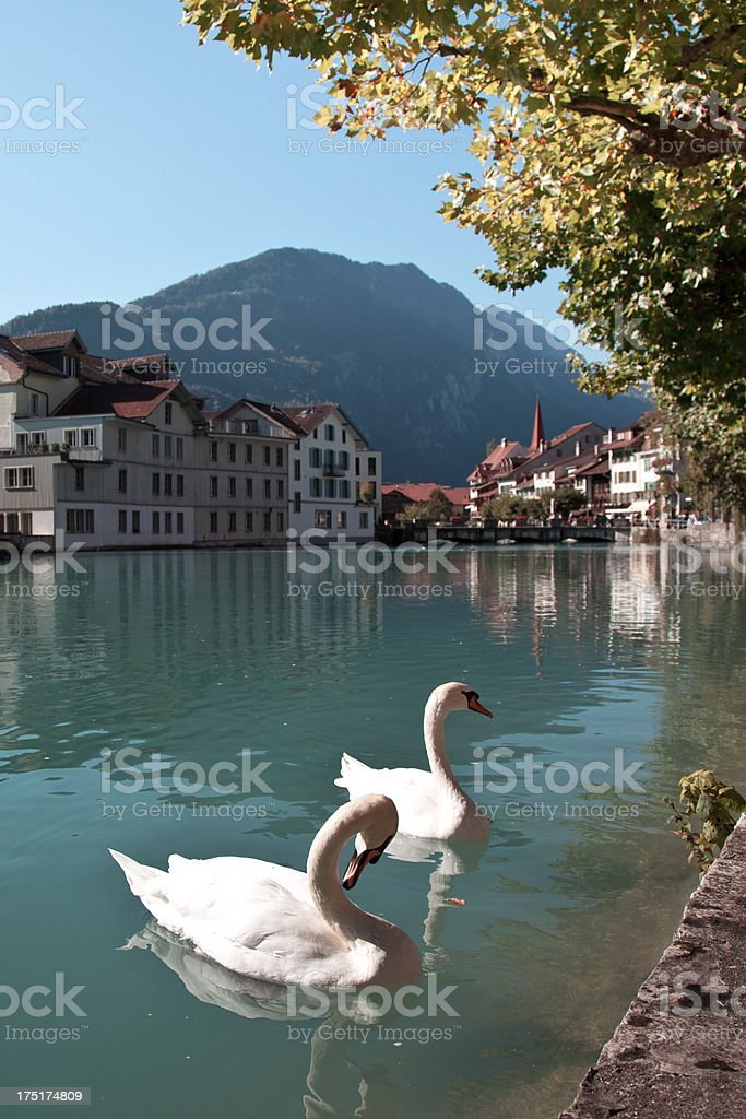 Interlaken, Switzerland royalty-free stock photo