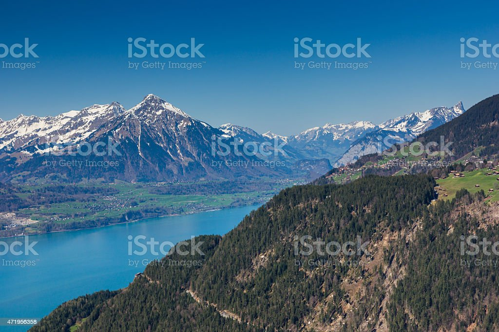 Interlaken, Switzerland stock photo