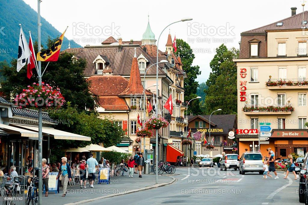 Interlaken - Switzerland stock photo