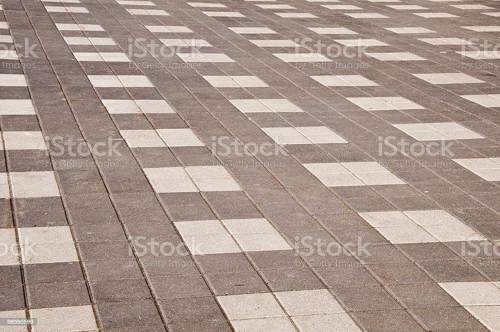 Interlock brick royalty-free stock photo