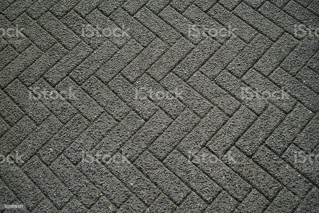 Interlocking Brick Roadway stock photo