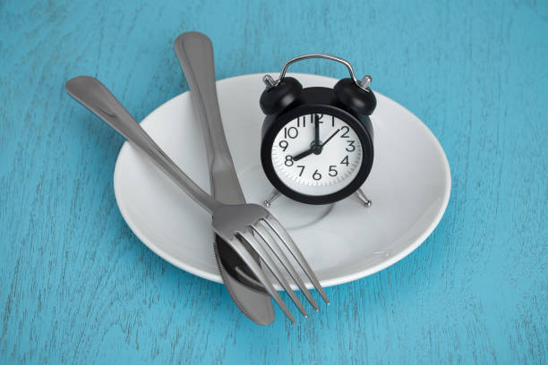 Intermittent fasting stock photo