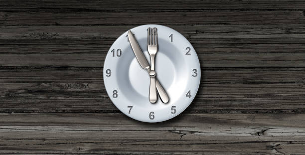 Intermittent Fasting stock photo