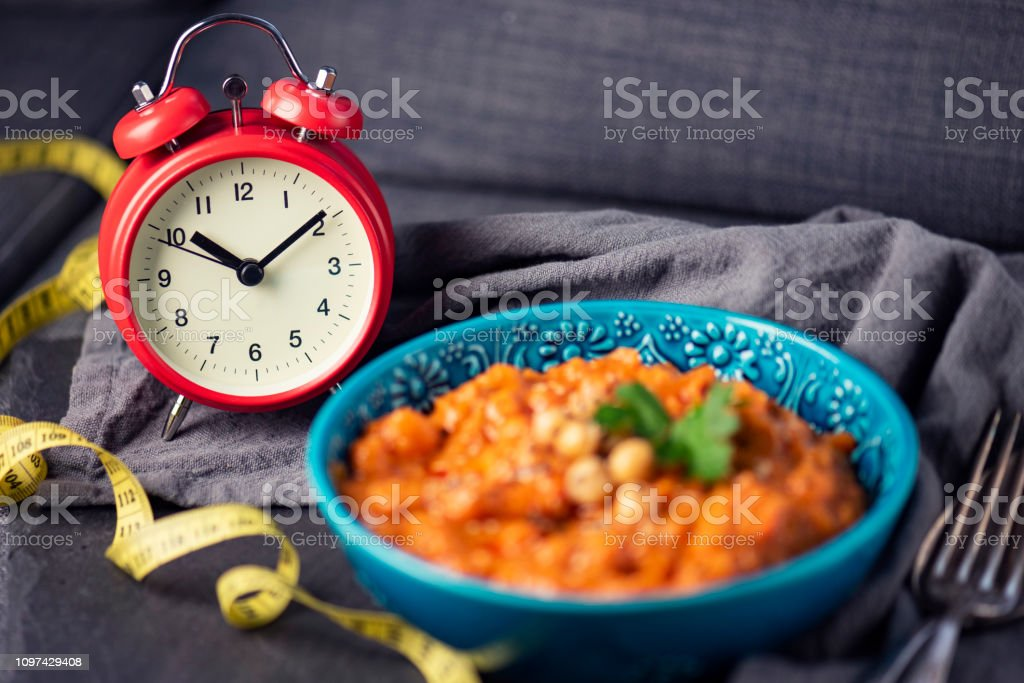 Intermittent Fasting – Weight Loss stock photo