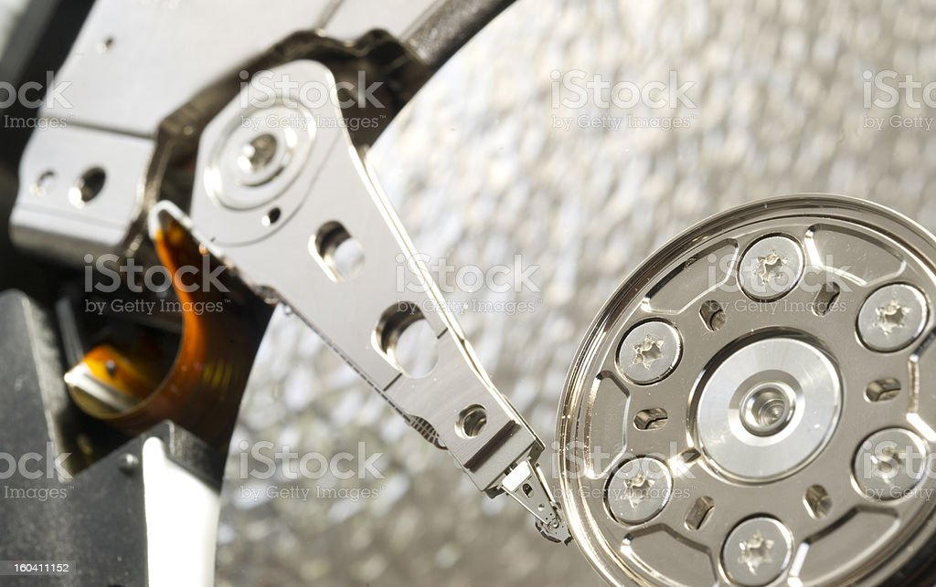 Internal Drive Computer Data Storage Hard Disk royalty-free stock photo
