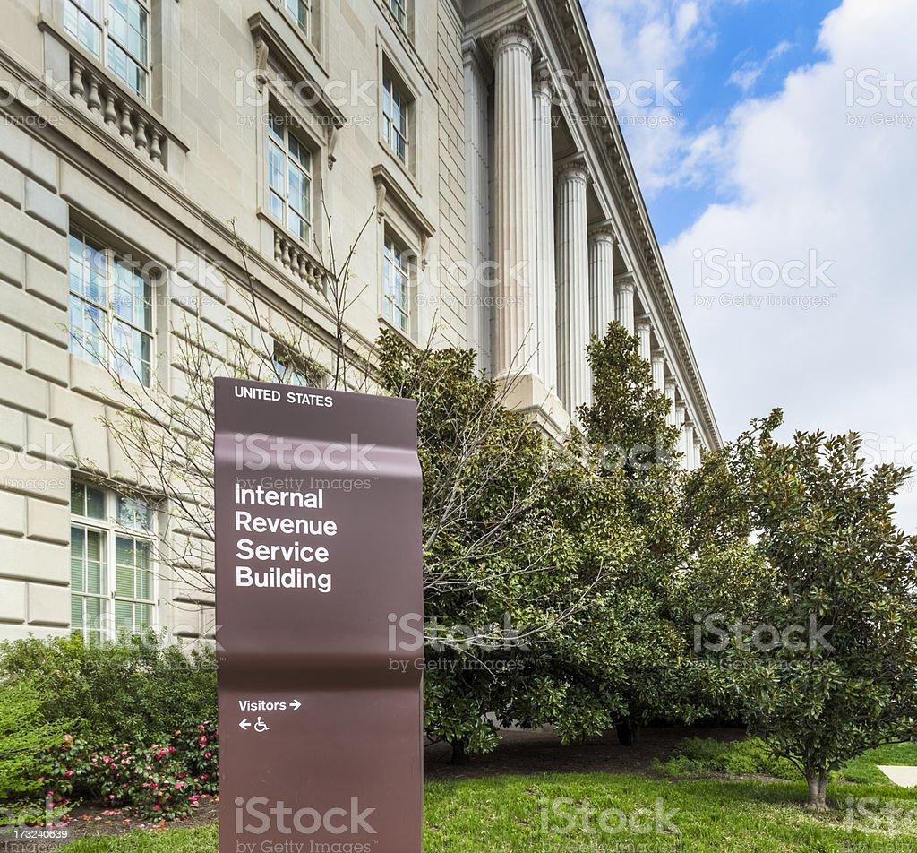 Internal Revenue Building royalty-free stock photo