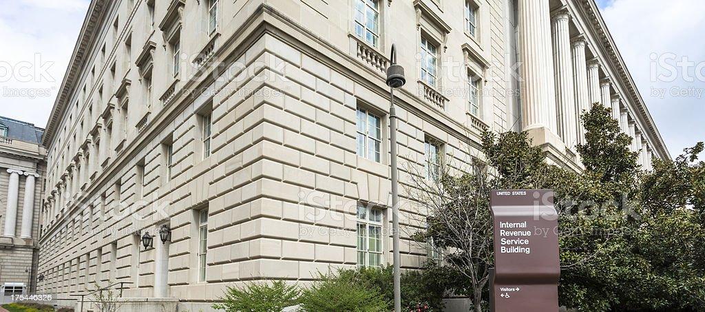Internal Revenue Building stock photo