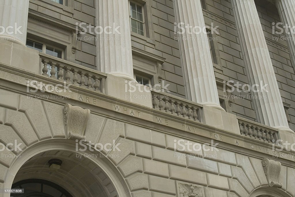 Internal Revenue Service 4 royalty-free stock photo