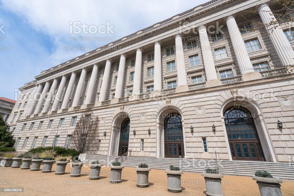 Internal Revenue Service Building stock photo