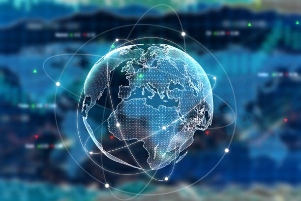international business-konzept - internationale geschäftswelt stock-fotos und bilder
