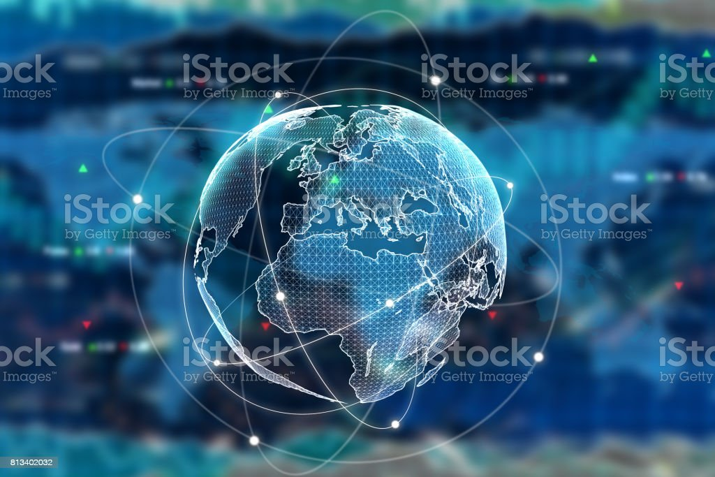 Internation business concept stock photo