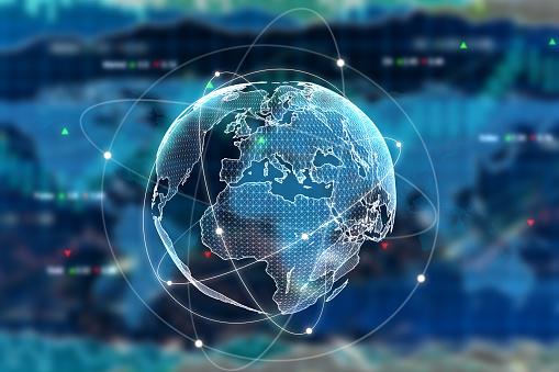 International Businesskonzept Stockfoto und mehr Bilder von Abstrakt